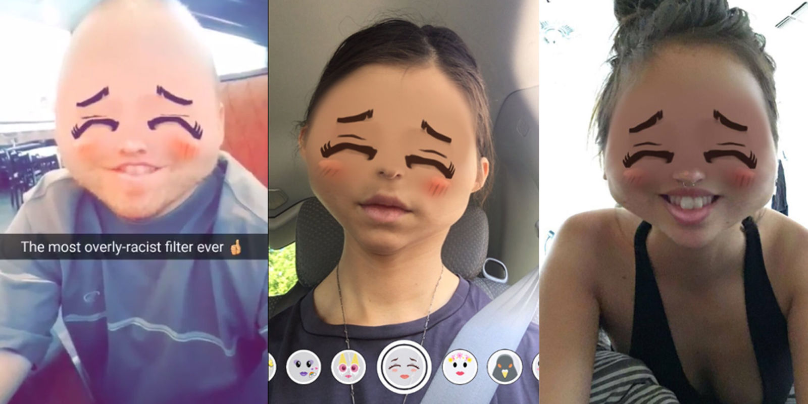 snapchat criticized for 39 anime inspired 39 filter lens called 39 yellowface 39 and asian caricature. Black Bedroom Furniture Sets. Home Design Ideas