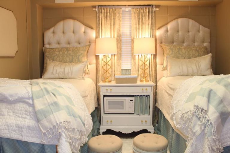 Glam Dorm Room Ideas