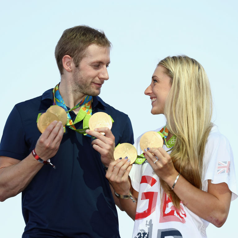 This Olympian Couple Who Has 10 Gold Medals Knows They Are