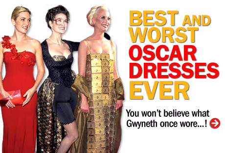Oscars Best and Worst Dressed - Worst Oscar Dresses