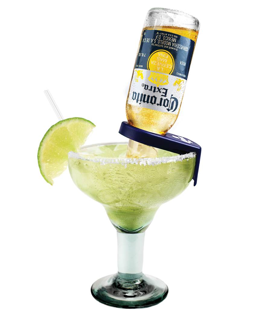 Super bowl fiesta with your girls for How to make corona glasses