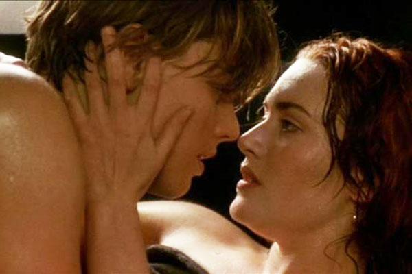 Titanic - En klassiker med flera sensuella och sexiga scener, t