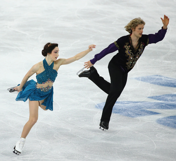 dancing on ice couples dating Cappellini and lanotte dated as teenagers and buck the trend of many pairs and  ice dance skaters who tend to get together once they team up.