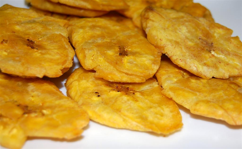 How To Make Tostones - Baked Plantain Recipe