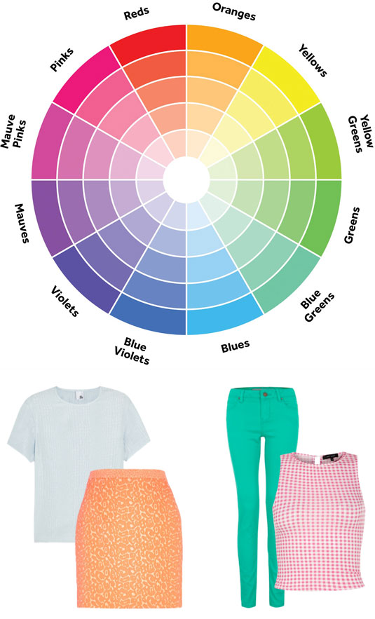 Ways to mix and match colors in your outfit how to mix for How to combine colors