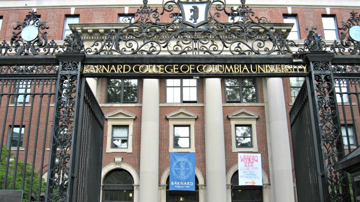 Barnard College's Entrance