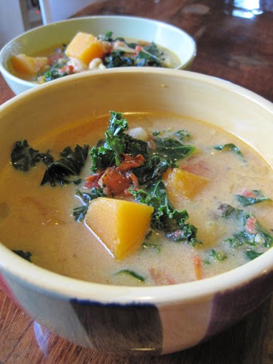 10. Acorn Squash Ravioli with Thyme Garlic Butter [via Sunday Morning ...