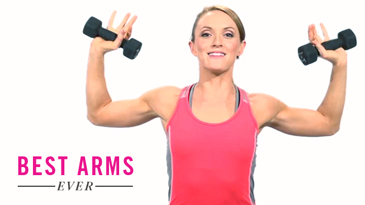 4 Easy Exercises For Super Toned Arms