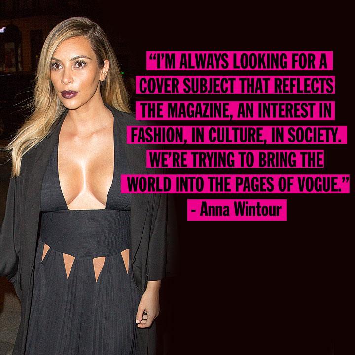 Kardashian Quotes: Kim Kardashian And Kanye West Vogue Cover