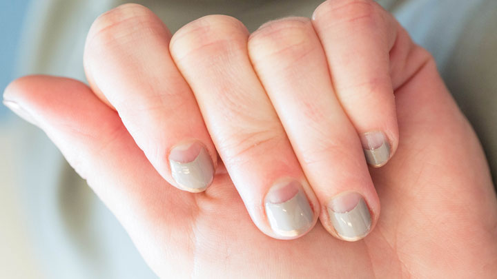 How To Half Moon French Manicure - Half Moon Nails