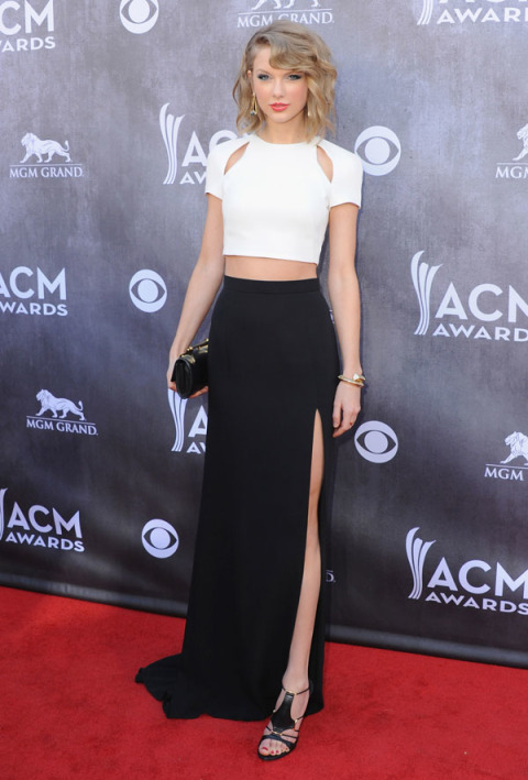 At the 49th Annual Academy of Country Music Awards in Las Vegas on April 6, 2014.
