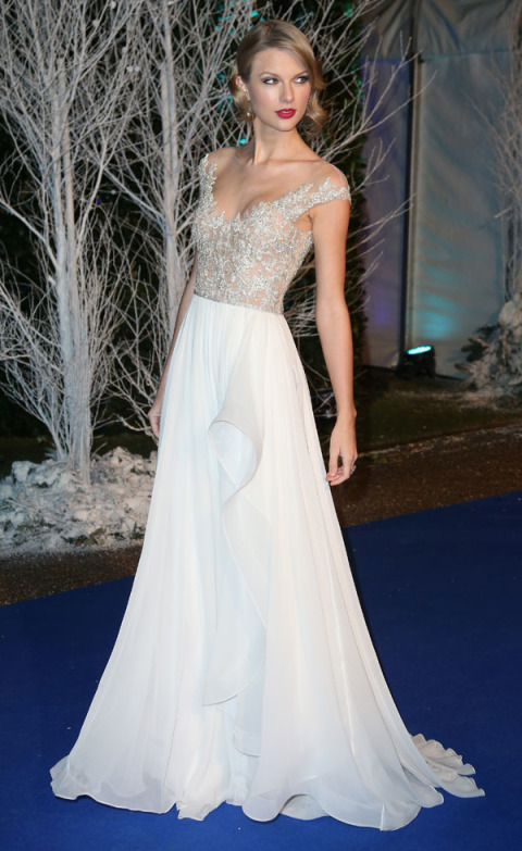 At the Centrepoints Winter Whites Gala 2013 in London.