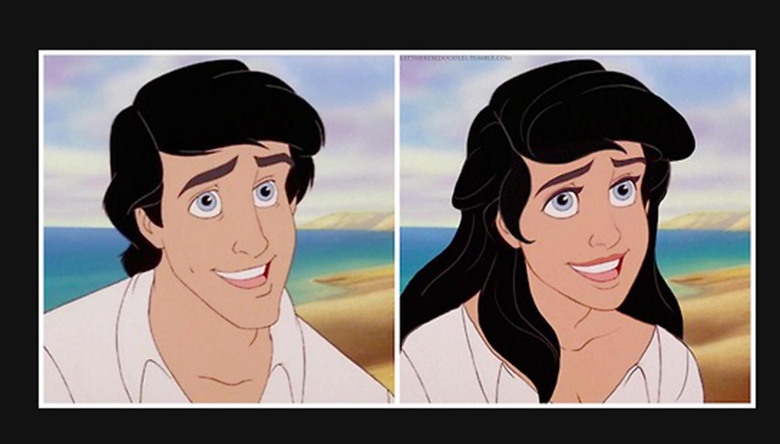 Genderbent Disney Princes Genderbent Disney