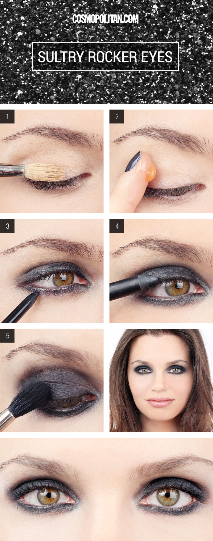 Makeup Tips Black Eyeshadow Vidalondon