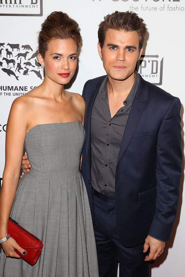 Paul Wesley And Torrey...