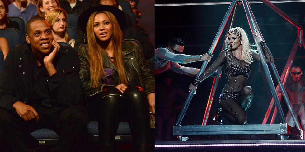 Beyoncé y Jay Z fueron al Britney piece of me