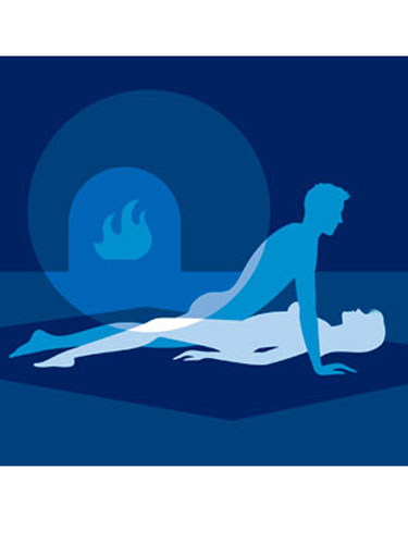 This move allows you to be close without getting hot and sticky: Start in missionary with your legs spread just enough to let him enter you. Then have him move about 2 inches higher so his pelvis is aligned with yours (a position that's referred to as the coital alignment technique, aka CAT). Have him rock back and forth while you thrust your pelvis upward, keeping in sync with him, so your clitoris is hitting his penis's base.
