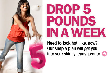 the best way to lose weight in a week  lose weight fast