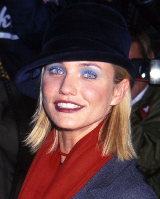 Resultado de imagen de blue eyeshadow 90s