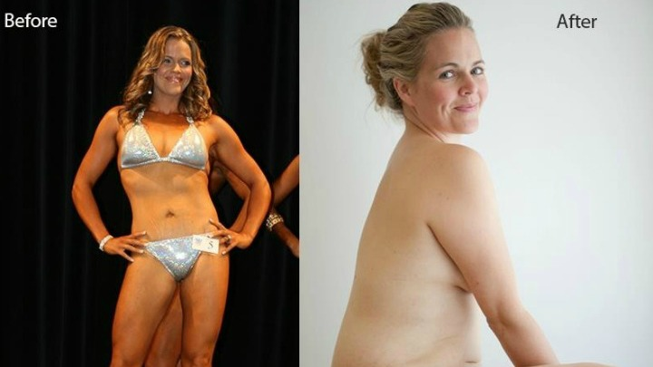 before after body women