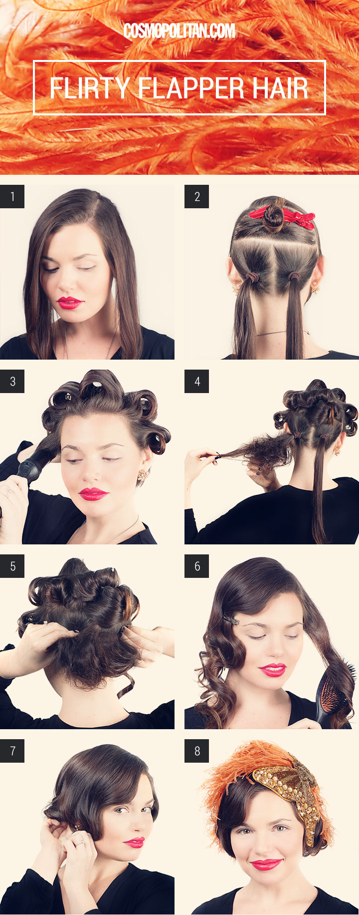 how to curl your hair 1920s style flapper hair how to for turning hair 5523